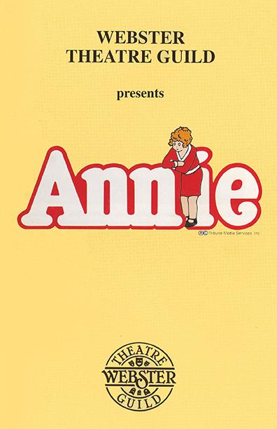 2005 Annie Poster