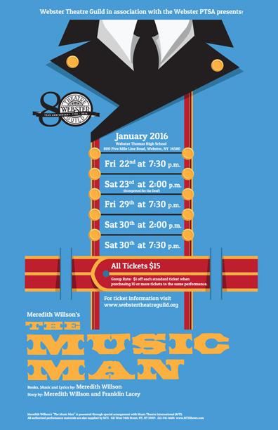 2016 MusicMan Poster